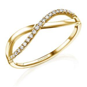 טבעת אינפיניטי יהלומים