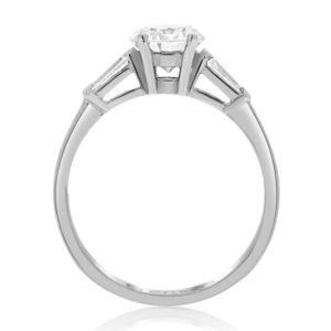 טבעת יהלום מרכזי 1.00