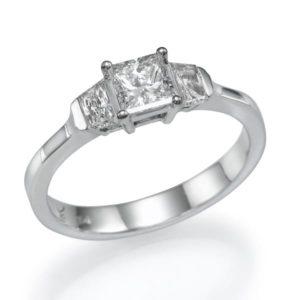 טבעת יהלום מרכזי 0.60