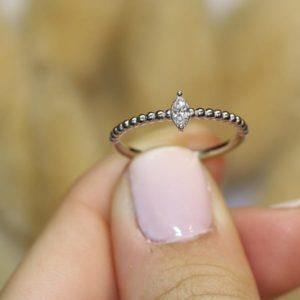 טבעת מרקיזה – יהלום