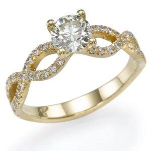 טבעת 2 שמיניות 0.70