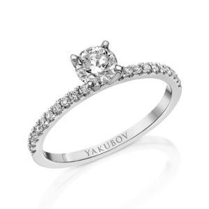 טבעת אירוסין מעוצבת 0.51
