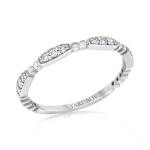 טבעת אטרנטי מעוצבת – 0.14 קראט