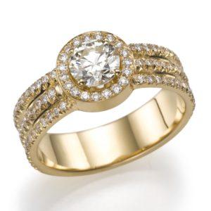 טבעת 3 שורות 0.62