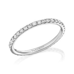 טבעת איטרנטי יהלומים 0.30 קראט
