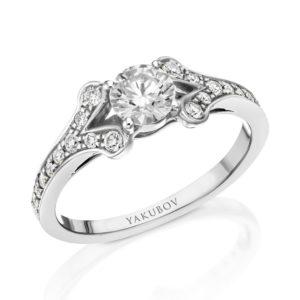 טבעת מגן היהלום 0.60