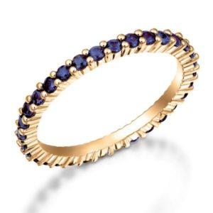 טבעת אטרנטי אבני-חן